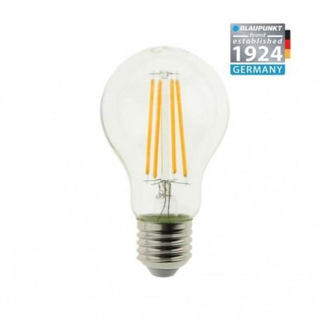 Blaupunkt Żarówka LED Filament LED E27 A60 8W Clear Glass Ściemnialna